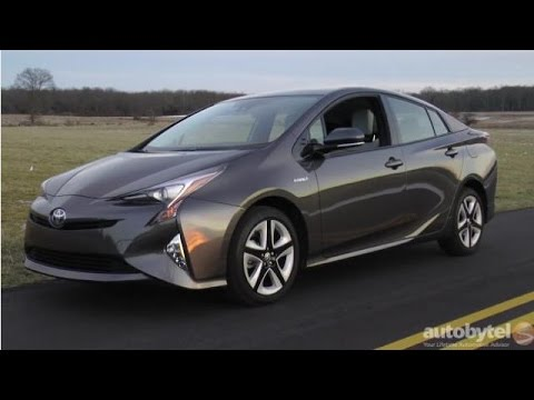 2016 Toyota Prius Hybrid Test Drive Video Review