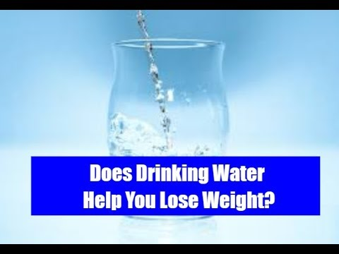 Does Drinking Water Help Lose Weight - Drinking Water Helps You Lose Weight Faster