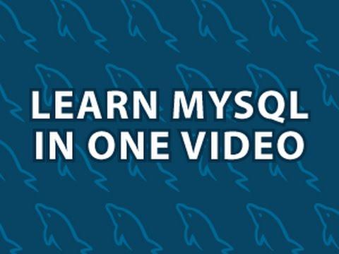 Learn MYSQL in 40 mins