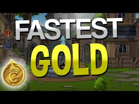 1 Million Gold Every 5 seconds AQW 2016