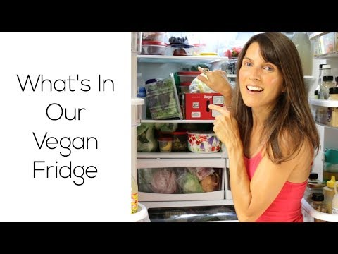 What's In Our Vegan Fridge - Take The Grand Tour