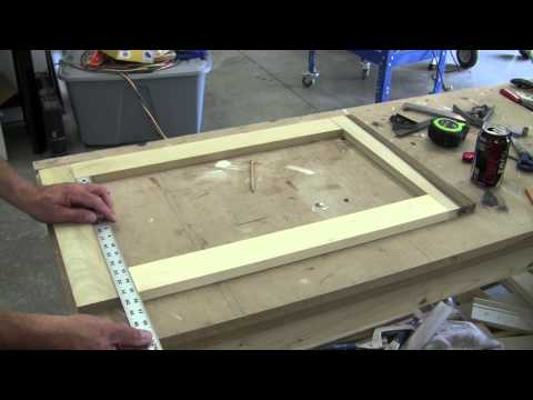 How to Build a Recessed Cabinet Pt 1