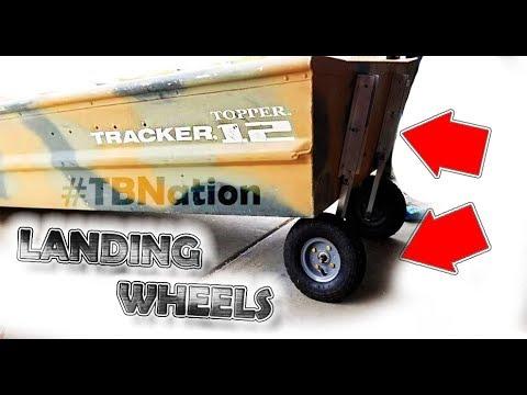 DIY Landing Wheels for Jon boats & Kayaks #TBNation