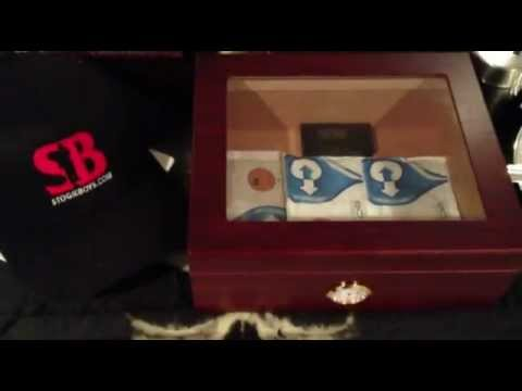 How To Season A New Cigar Humidor with Boveda from StickReview.com