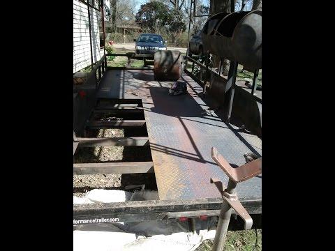 Bbq concession trailer build part 1/5