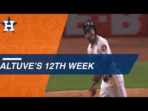 Jose Altuve shines during Astros' win streak