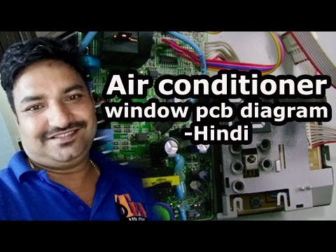 Air conditioner window pcb diagram - Hindi