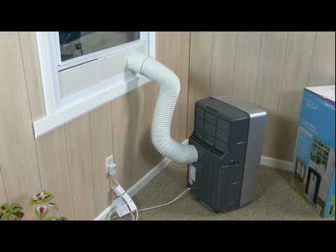 Haier Portable Air Conditioner Installation Video