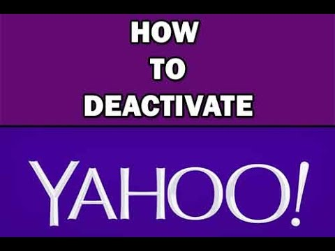 How to Delete Yahoo Email Address Permanently | Deactivate yahoo Account