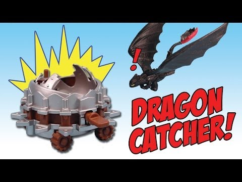 How to Train Your Dragon 2 Toothless vs. Dragon Catcher