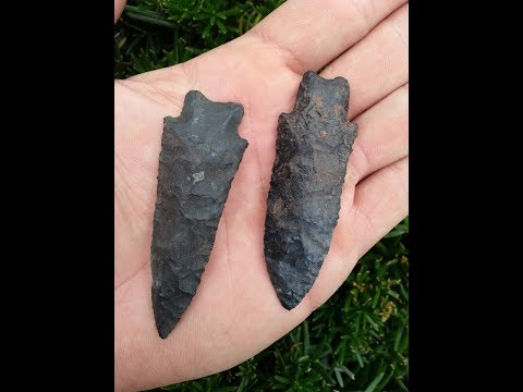 Wooster Ohio Heavy Duty Arrowhead #2 Archaeology Hunting