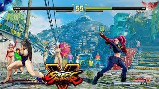Street Fighter V AE Chun Li vs Juri PC Mod