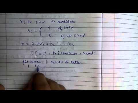 Probabilistic Analysis: Analysis of Hiring Problem using IRV