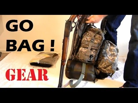Go Bag / Bug Out Bag Survival gear review 1 of 10: Essentials Contents and What to Pack