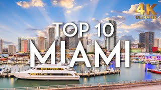 TOP 10 Things do to in MIAMI in 2019 | Florida Travel Guide 4K