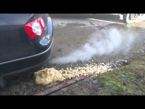 DPF clean on a VW Passat by Terraclean Tipperary