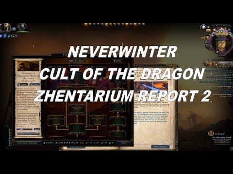 Neverwinter Well of Dragons Tyranny of Dragons Zhentarium Report part 2