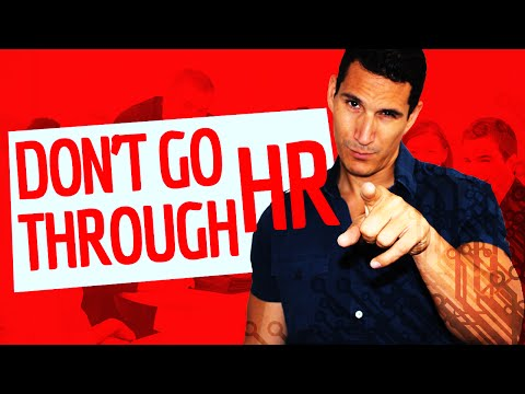 Don't Go Through HR When Looking For A Job