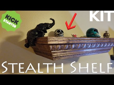 Stealth Shelf Kit - Build your own Concealment Shelf - EASY!
