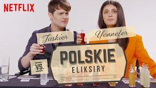 Jaskier i Yennefer vs. polskie eliksiry | Wiedźmin | Netflix