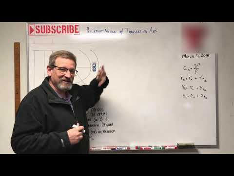 Dynamics - Lesson 12: Relative Motion with Translating Axis