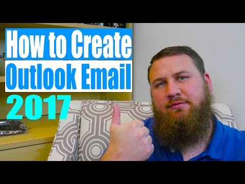 How to create an Outlook email or Microsoft account
