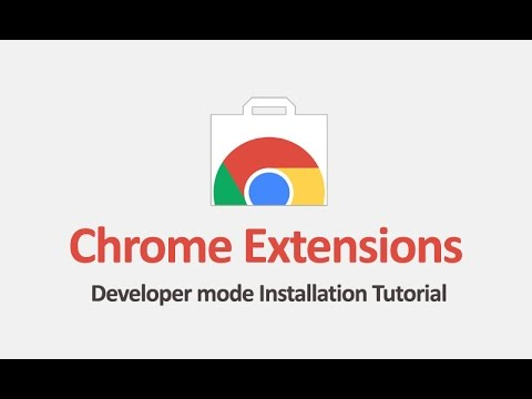 How to Install Chrome Extensions In Developer Mode