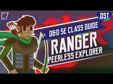 D&D 5e Ranger Class Guide ~ Those Aren't Berries... You've Never Met an Owlbear Have You?