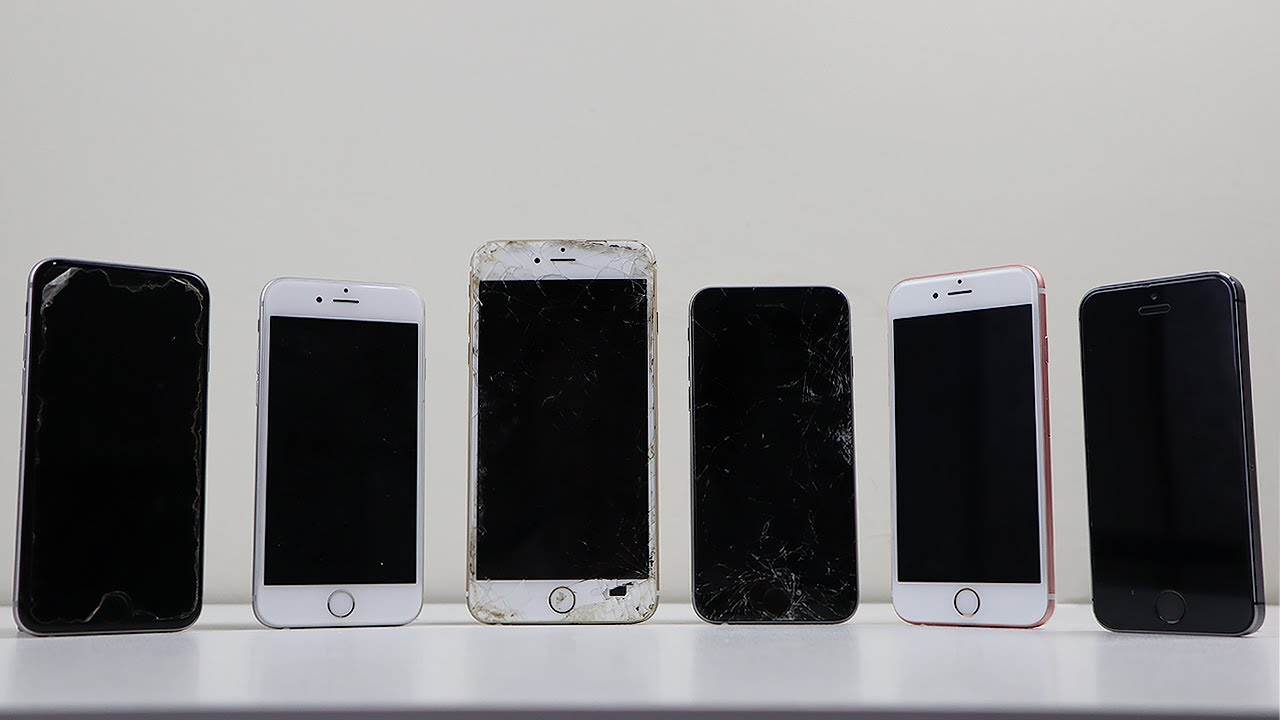 """eBay Score! - $130 iPhone """"Parts Only"""" LOT"""