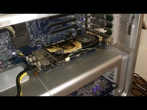 How to Flash an nVidia GeForce 8800GT/GTS Graphics Card for a Mac Pro