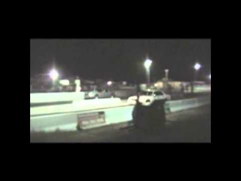 Supercharged 5.4 Crown Vic DRAG RACE!