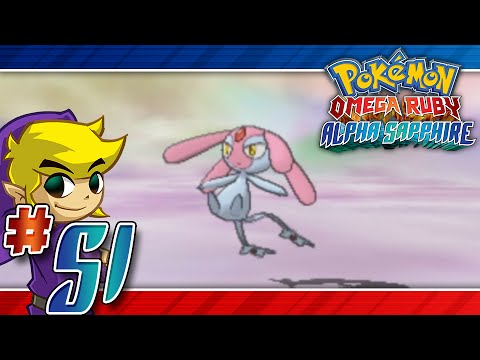 Let's Play Pokemon: Omega Ruby - Part 51 - Mesprit, Uxie, Azelf!!