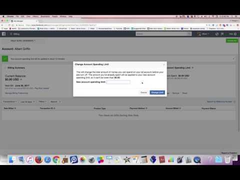 FB Ad Spend Account Setup