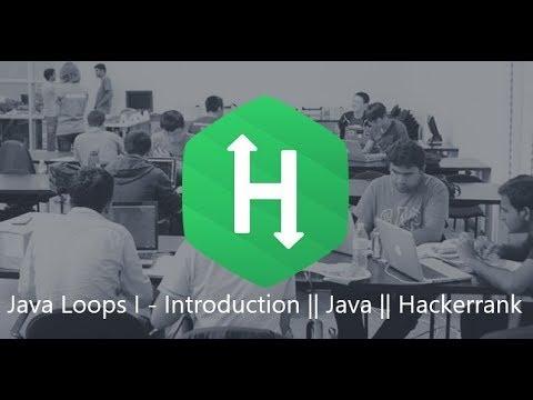 7. Java Loops II - Introduction    Java    Hackerrank