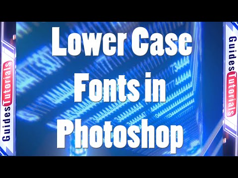 Changing to Lower Case Text from Upper Case Text in Photoshop