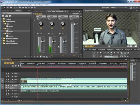 Tornando o Áudio Stereo com Reverb no Premiere Pro