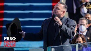 WATCH: Garth Brooks sings 'Amazing Grace' for Biden inauguration