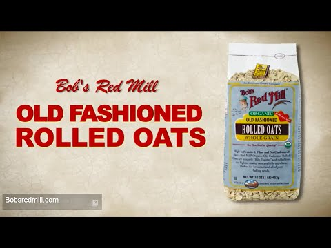 Old Fashioned Rolled Oats | Bob's Red Mill Natural Foods