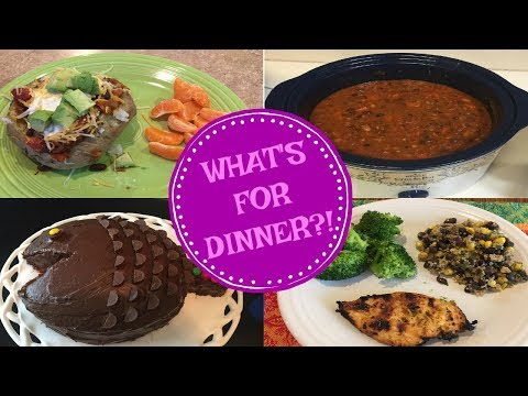 WHAT'S FOR DINNER?? APR 2-10