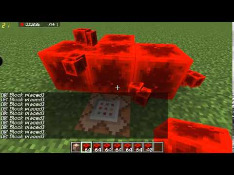 How to get unlimited redstone blocks (creative)