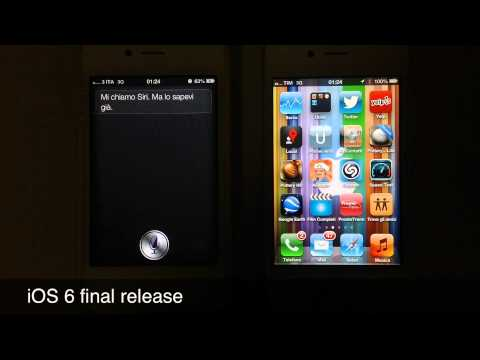 2 iPhone 4S with iOS 6: different tone of Siri's voice