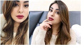 Bombshell on a budget 💋 Fall/Winter glam using affordable makeup   Muskan Chanchlani