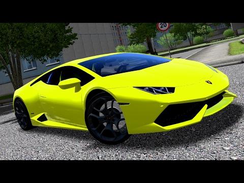 City Car Driving 1.5.3 Lamborghini Huracan LP 610-4 + Cinematic - G27 [1080p][60fps]