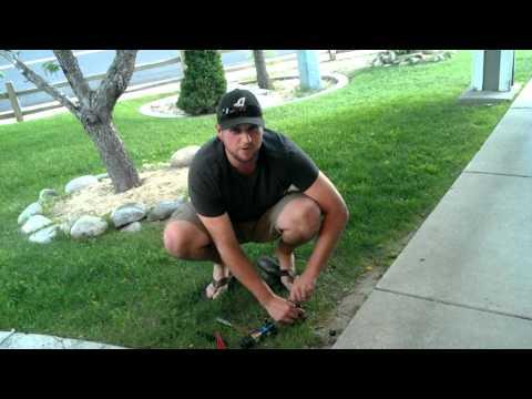 How to Fix a Broken Sprinkler