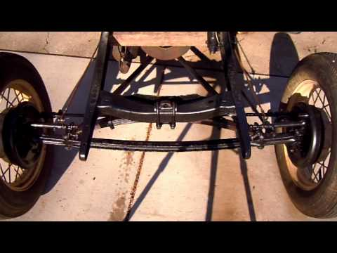 HD VIDEO OF 1930 MODEL A FORD COUPE FRONT END MECHANISMS 11-11-10.MOV