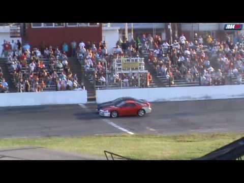 Mitsubishi 3000GT VR4 Spectator drags Seekonk Speedway Thrill show 8-1-2010