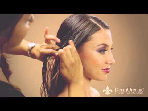 How To Style Wet Hair with DermOrganic