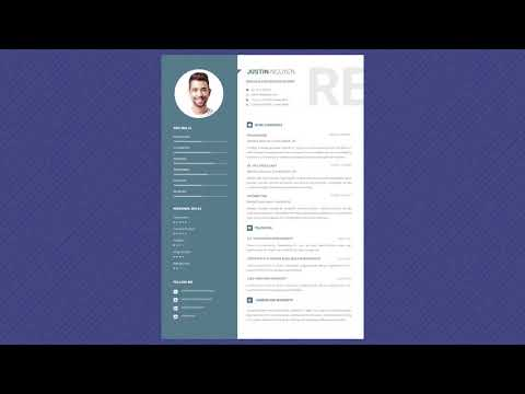 Free Professional Resume Template - Calmless Gray