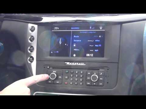 FAQ #5 - Finding the Sirius Satellite Radio Code in a Maserati GranTurismo | Morrie's Luxury Auto