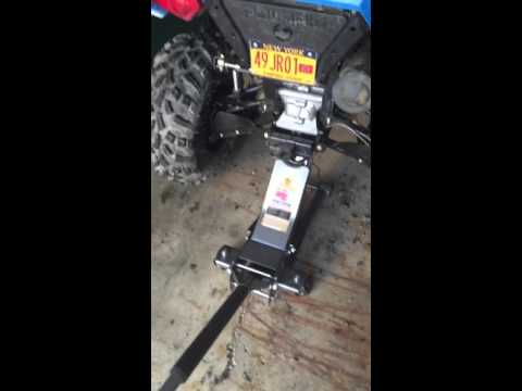 2016 Polaris 570 Shock adjustment